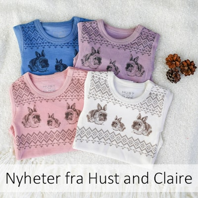 Nyheter fra hust and claire.